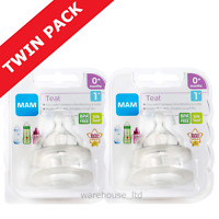 Mam Teats, Slow Flow - TWIN PACK (4 Teats)