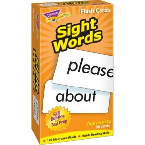 CARDS;FLASH;SIGHT WORDS