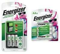 Energizer Recharge Value Charger with 4 AA and 8 AA rechargeable batteries(New)