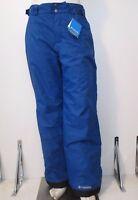 Mens S-M-L-XL-XXL Columbia Arctic Trip Insulated Waterproof Snow Ski Pants Blue