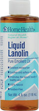 Liquid Lanolin Pure Emollient Oil, Home Health, 4 oz