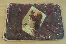 1890-97 ANTIQUE School AUTOGRAPH Book~FRESNO County~SELMA CAL~
