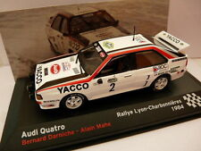 RFR2M voiture 1/43 IXO altaya Rallye France : AUDI quattro 1984 DARNICHE