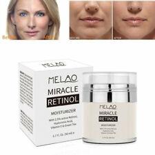 50ML Retinol 2.5% Face Cream Anti-Aging Hyaluronic Acid Vitamin E Shrink BEST
