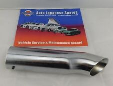 MAZDA BONGO 1995-2006 REAR CHROME END PIPE FITS ALL + FREE SERVICE BOOKLET