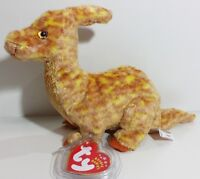 "TY Beanie Babies ""TOOTER"" the DINOSAUR! RETIRED! A MUST HAVE! PERFECT GIFT! NEW!"