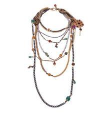 Resin Charm Chain Fashion Necklaces & Pendants