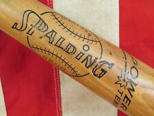 "Vintage 1960s Spalding Wood Baseball Bat HOF Yogi Berra Model 33"" NY Yankees"
