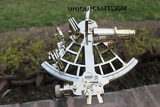 Marine Maritime Nautical Navy Brass Sextant Vintage Working Sextant Xmas Decor.