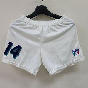 1994 ITALY Home Short No.14 Nicola Berti 94 USA World Cup Pants