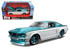 Maisto 1:24 W/B Allstars 1967 Ford Mustang Gt Diecast Car Model 31094Tlwt