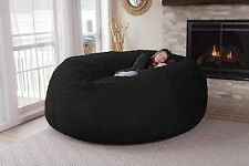 Chill Bag Huge Oversized Memory Foam Bean Bag Chair Bed Soft Suede Washable