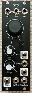 Make Noise STO Eurorack Oscillator - Black (also with original silver faceplate)