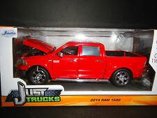 Jada Dodge Ram 1500 2014 Red 1/24