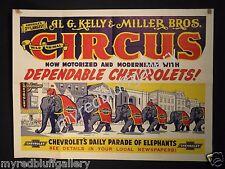 AL G. KELLY & MILLER BROS. Motorized with CHEVROLET Trucks #2