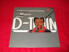 """D- TRAIN ~ THE VERY BEST OF 12""""  MINT / NEVER PLAYED  /  SUPER RARE MIXES"""