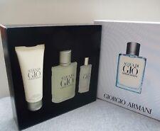 GIORGIO ARMANI Acqua Di Gio EDT Pour Homme 100ml Gift Set, Brand New in Box