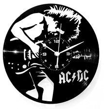 OROLOGIO DA PARETE LP 33 GIRI - DISCO IN VINILE 33 GIRI - ROCK MUSIC ACDC AC DC