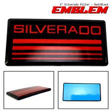 Chevrolet Silverado Red Line Cab Pillar Emblem Badge Nameplate MAD 101064
