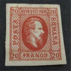 nystamps Romania Stamp # 24 Mint OG H $35   L23y758