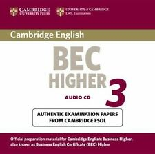 Cambridge Bec Higher 3: Examination Papers Form University of Cambridge ESOL Exa
