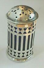 More details for antique edwardian sterling silver pepper pot chester 1903