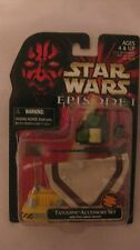 Star Wars Episode 1 Tatooine Set de Accesorios Pull-Back Droide Hasbro 1998