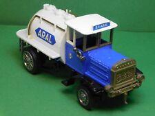Henschel ARAL Tanker Tankwagen 1926 Ziss Modell 1:43 N° 303 Made in W.-Germany