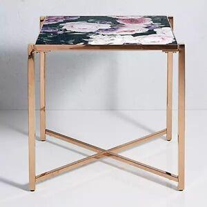 Kaleidoscope Ayana Printed Glass Furniture Range - Side Table - BNIB