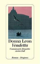 Vendetta. von Donna Leon --- Diogenes, gebunden, Leinen - Brunetti - 4. Fall