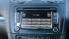 VOLKSWAGEN GOLF RADIO/ TOUCH SCREEN CD PLAYER (RCD510) GEN 6, 12/08-03/13