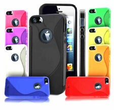 Case for iPhone 5 6 7 8 Plus SE SS S Cover S-Line Wave TPU Soft Gel Silicone