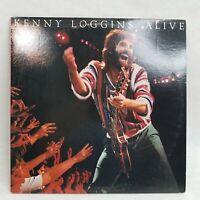 """Kenny Loggins """"Alive"""" Vinyl LP 12"""" Record AL-36740"""