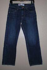 Levi's 505 Dark Wash Jean Shorts Boy's Sz 16 Reg 28 X 28  EUC