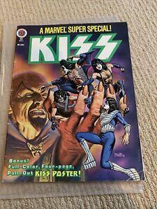 KISS Marvel Comic Special 1977/1978 - Rare - Comic Book