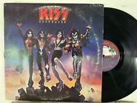 Kiss - Destroyer - 1976 LP Orig. 1st Press Blue Casablanca Labels NBLP 7025 VG
