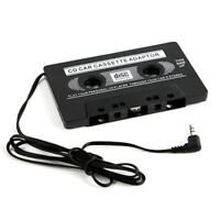 3.5mm AUX Car Audio Cassette Tape Adapter Transmitters for MP3 IPod CD MD i I2Q6