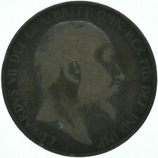 1906 ONE PENNY COIN EDWARD VII GREAT BRITAIN    #WT16240