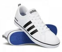 * ADIDAS MENS 11 VS PACE AW4594 Basketball White Black Blue Sneakers Trainers