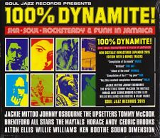 100% Dynamite! Ska, Soul, Rocksteady & Funk in Jamaica 2015 Soul Jazz-SJR CD321