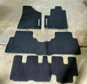 Kia Sorento 2013 2014 Floor Mat SET 4 Piece OEM 1UF14-AB500