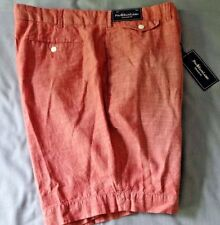 Polo Ralph Lauren Mens Shorts Faded Red 42 Button Fly Cotton NWT