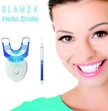 Hi SMILE Teeth Whitening Kit LED Laser Light Mouth Tray + Dental White Tooth Gel