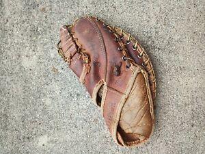 "Wilson A2874 ""Norm Cash""   ""Big Scoop"" First Base Glove Vintage Child Sig Aaron?"