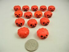 Halloween Dollhouse Miniature Pumpkins 14pc