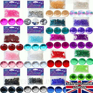 Diamond Table scatter Confetti Sprinkles Wedding Decoration 87 Gems Diamante 28g
