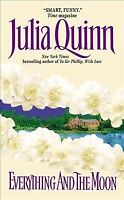 Everything and the Moon, Paperback by Quinn, Julia, Like New Used, Free P&P i...