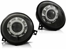 LED HEADLIGHTS LPVWL0 VW LUPO 1998 1999 2000 2001 2002 2003 2004 2005 BLACK