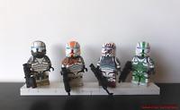 Lego Star Wars Clone Delta Squad Commando Minifigures [7676 75019 75021]