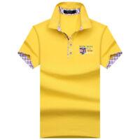 SHABIQI Classic Brand Men shirt Men Polo Shirt Men Short Sleeve Polos Shirt T